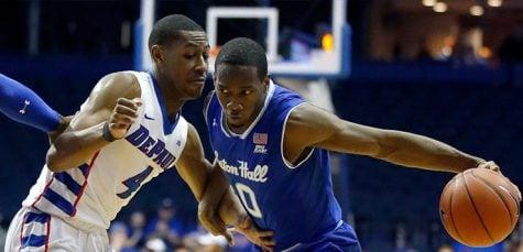 Men's basketball falls short against Seton Hall