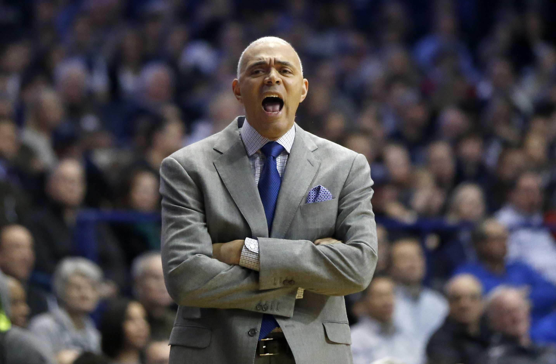 DePaul head coach Dave Leitao (AP Photo/Charles Rex Arbogast)