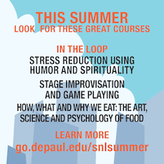 Learn more at: go.depaul.edu/snlsummer