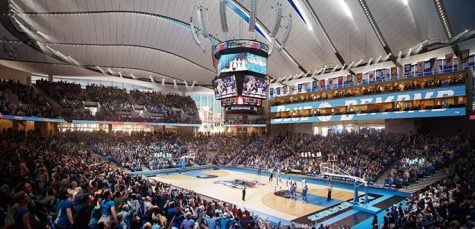 Concessions at DePaul's New Wintrust Arena