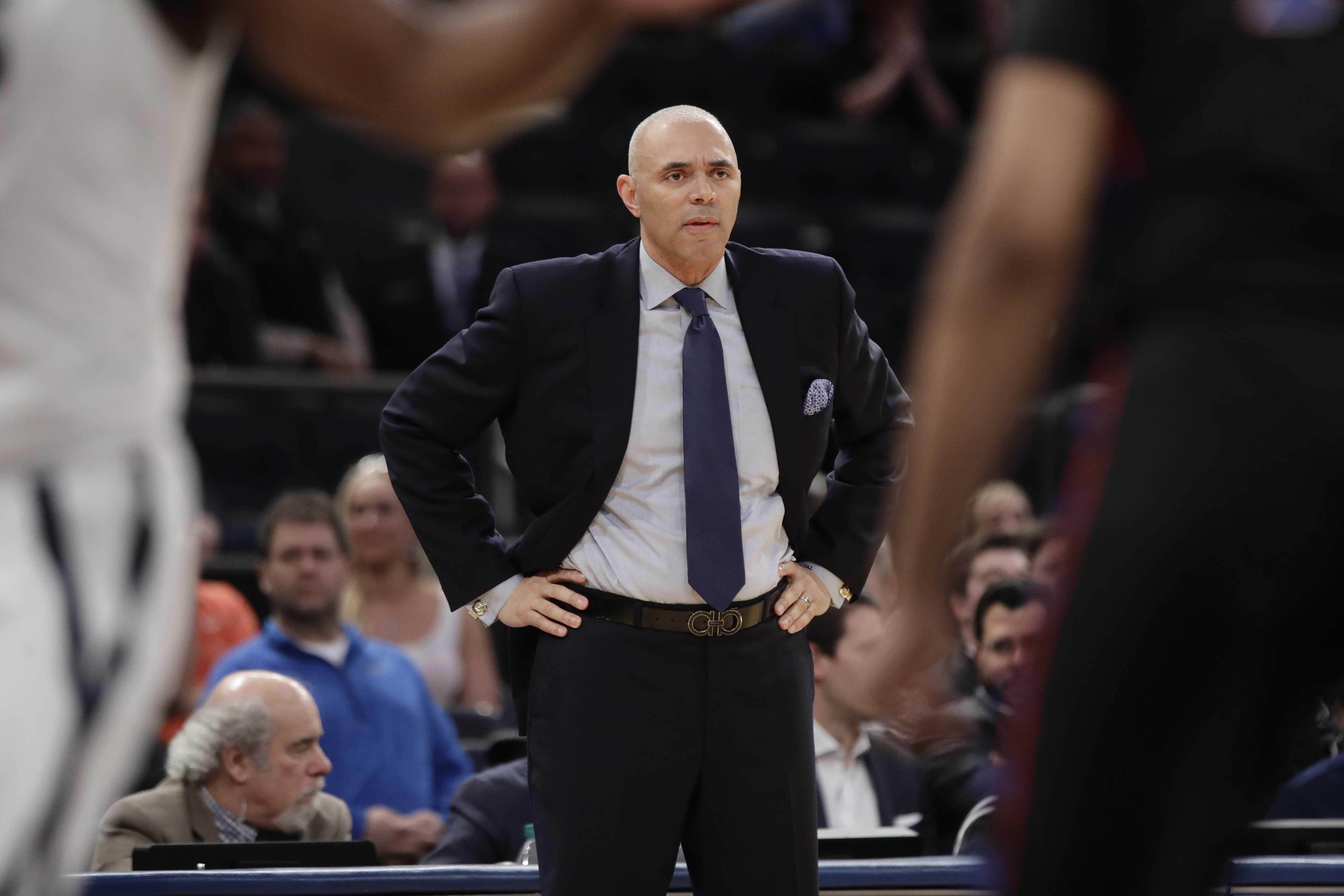 DePaul head coach Dave Leitao. (AP Photo/Frank Franklin II)