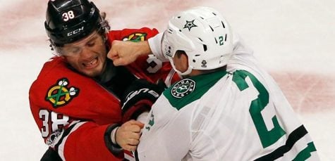 Hockey players struggle with concussions