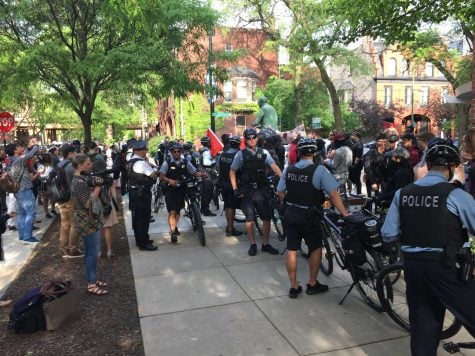 Man stabbed on DePaul's campus during protests Tuesday night