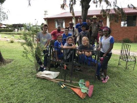 Student athletes get to work in service trip to Guatemala
