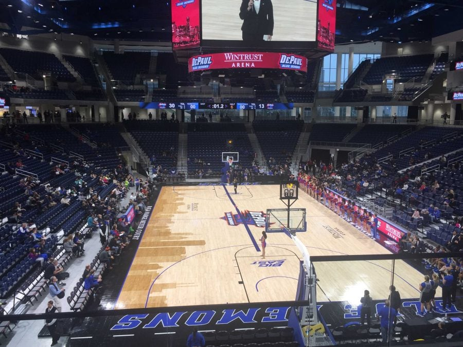 Exterior: Open Season: DePaul Hosts Open Practice At Wintrust Arena