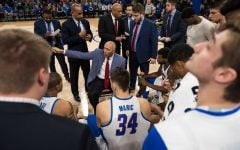 All is well for now: Blue Demons win first home conference game