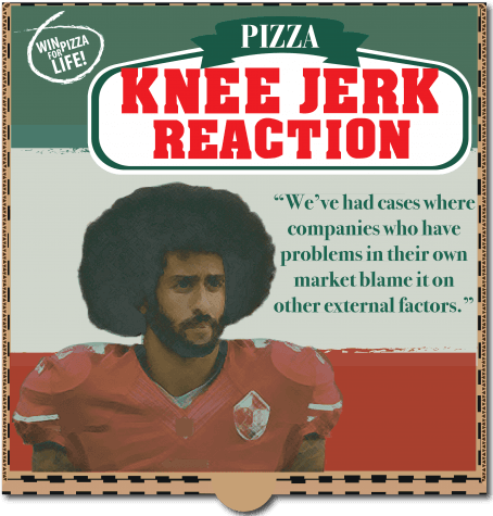 The politics of pizza: Papa John's sales take a hit in the midst of NFL controversy