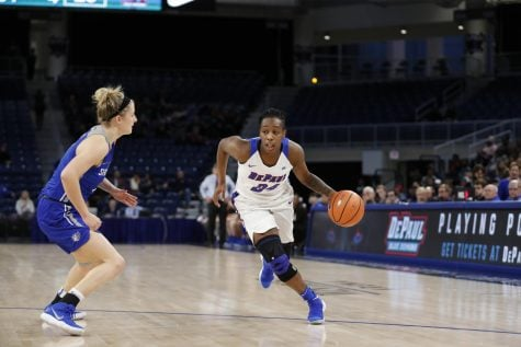 No. 16/15 DePaul women's basketball can't overcome No. 2/1 Notre Dame 75-61