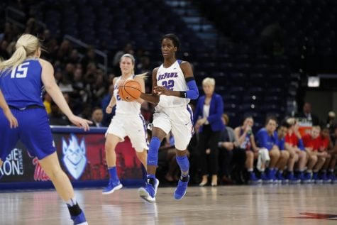 DePaul beats Delaware State 110-71, advances to Maggie Dixon final