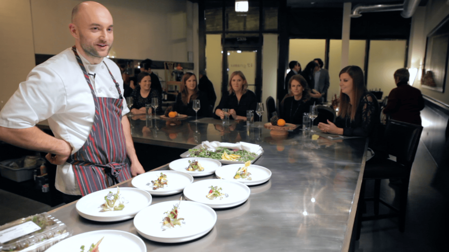 Chef Jake Bickelhaupt is his high-end restaurant 42 Grams located in Uptown. His journey to create this restaurant and become an elite chef are the subjects of this film.  (Photo courtesy of 42 Grams)