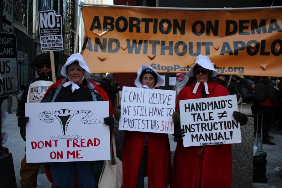 DePaul pro-lifers speak out at March for Life rally