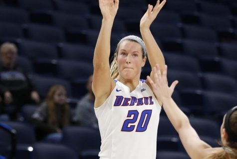 Kelly Campbell had a career-high 20 points Monday night. (Photo Courtesy of DePaul Athletics)