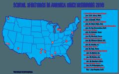 14 school shootings in 2018