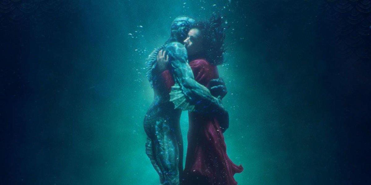 Doug Jones and Sally Hawkins in the Oscar nominated film