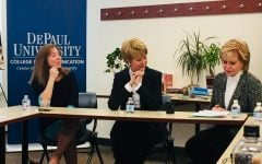 Jane Pauley, alumna Ann Pistone honored by journalism department
