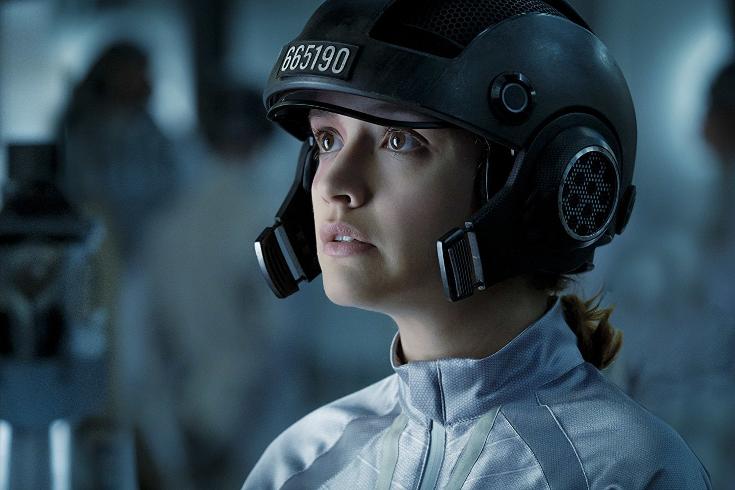 Olivia Cooke stars in Steven Spielberg's new epic film set in a virtual reality. (Image courtesy of IMDB)