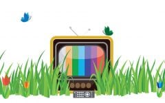 Television in bloom