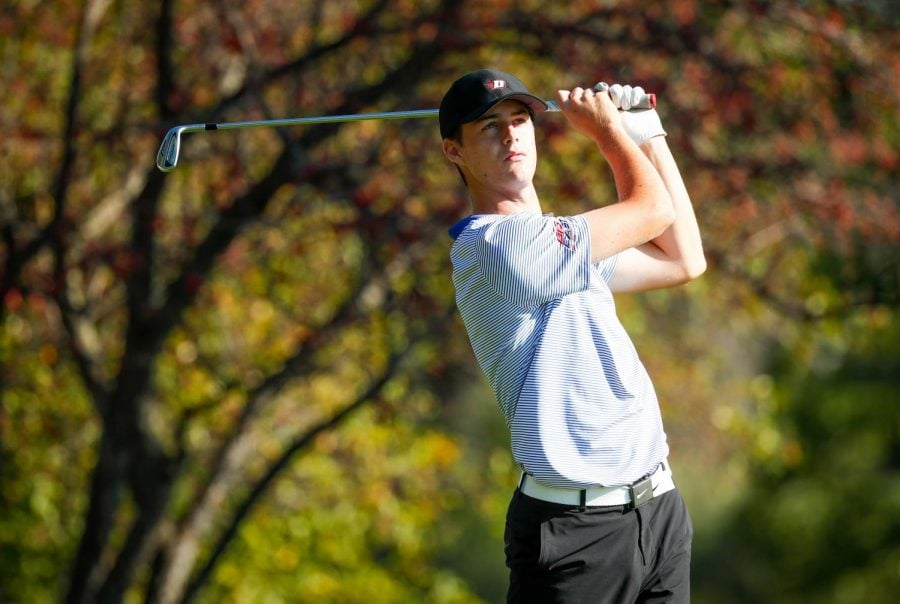 Freshman+Joey+McCarthy+said+he%27s+learned+a+lot+over+the+course+of+his+freshman+year+at+DePaul.+He+finish+T-8+at+Callawassie.+