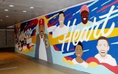Chicago has my heart: College artists help create new pedway mural