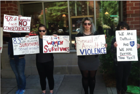 Silent protest speaks volumes: DPUnite stages protest on campus