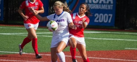 DePaul women's soccer play out feisty, scoreless draw with Utah in home opener