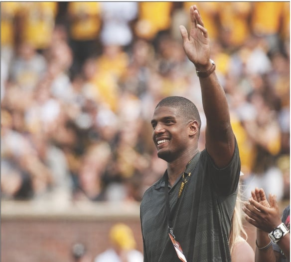 Michael Sam is the first openly gay player to be drafted into the NFL. His sexual orientation has become a controversial issue in the league. L.G. PATTERSON | AP