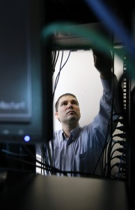 Craig Petronella has a company in Raleigh, N.C., that helps when people or businesses are hit with a computer virus. There is a new kind of ransom virus called CryptoLocker going around that locks a computer unless money is paid electronically to the hackers. (Chris Seward/Raleigh News & Observer/MCT)
