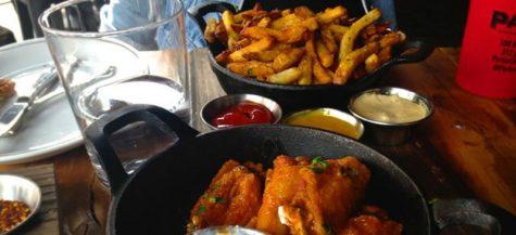 Appetizer: Buffalo Bacon Wings