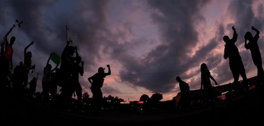 Fragmented Ferguson, Missouri in the name of Michael Brown