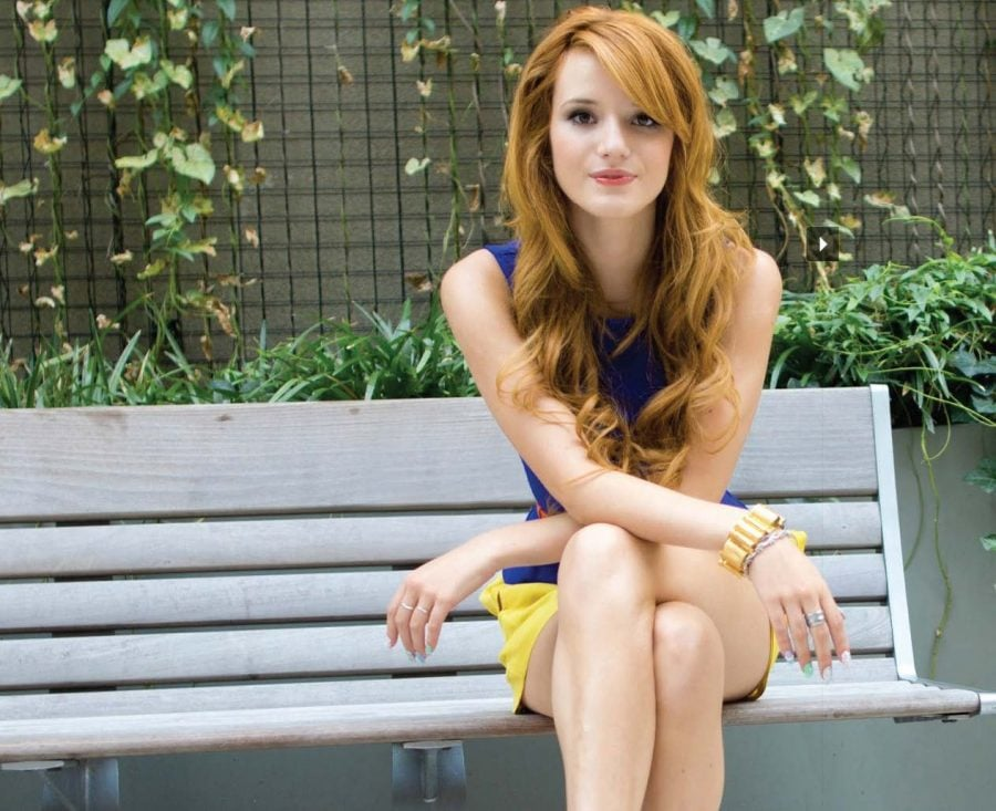 Actress Bella Thorne, former star of Disney Channel series