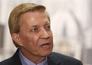 Ald. Bob Fioretti announced his bid for mayor earlier this month. The second ward alderman has been Mayor Rahm Emanuel's staunchest opponent on the city council. (M. Spencer Green | AP)