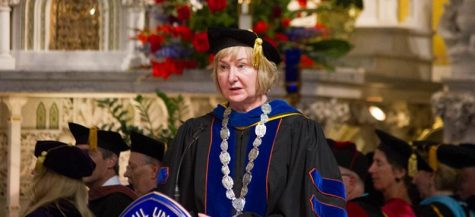 Interim President recognizes university success and challenges at convocation