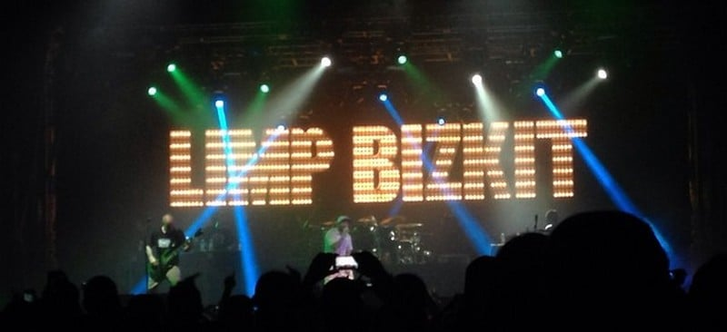 Limp Bizkit performs at the Aragon Ballroom in Chicago, Sept. 28. (Erin Yarnall / The DePaulia)