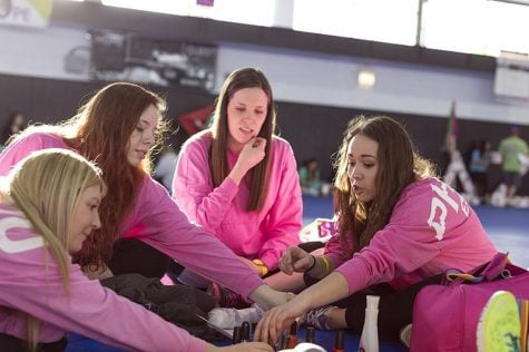 Members of Phi Mu participate in last year's Relay for Life event. As a new sorority on campus, this is the first year that Phi Mu can conduct formal recruitment for new members. (File Photo | The DePaulia)