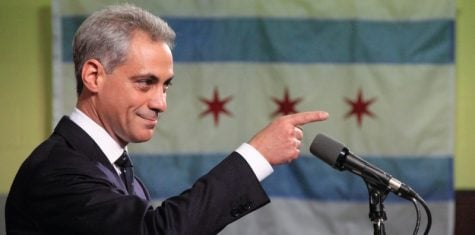 Chicago Mayor Rahm Emanuel (D) takes on the minimum wage while gearing up for re-election next year. (Daniel X. O'Neil / Creative Commons)