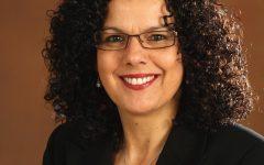 Interim Provost Salma Ghanem.