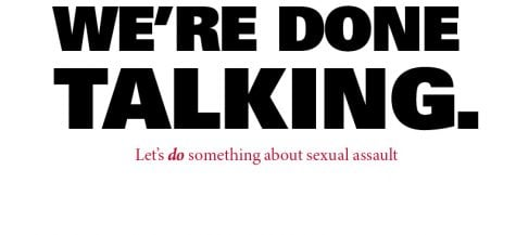 Letter to the editor: Why 'let's stop talking about sexual assault' is problematic