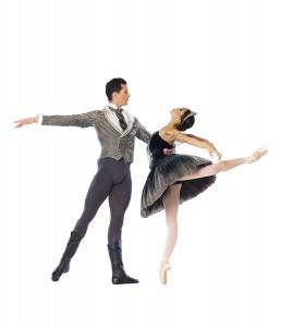 Dylan Gutierrez and Jeraldine Mendoza (Cheryl Mann/Joffrey Ballet).