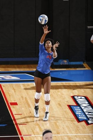 DePaul volleyball leaves their blues behind