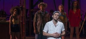 """Wesley Toledo brings energy to Usnavi in """"In the Heights."""" (Michael Brosilow / The DePaulia)"""