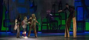 "The Theatre School brings to life Norton Juster's classic 1961 children's book ""The Phantom Tollbooth."" It runs through Nov. 15 at the Merle Reskin Theatre. (Michael Brosilow / The Theatre School)"