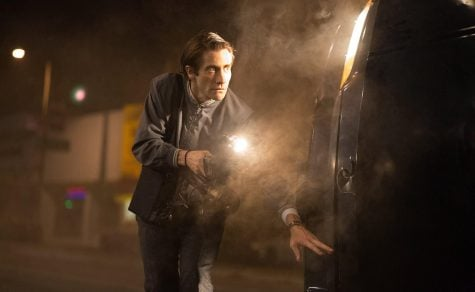 Jack Gyllenhaal plays a confident and ruthless freelance videographer in