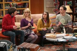 """The CBS comedy show, """"The Big Bang Theory,"""" uses a laugh track in its episodes. AP Photo/CBS, Michael Yarish"""