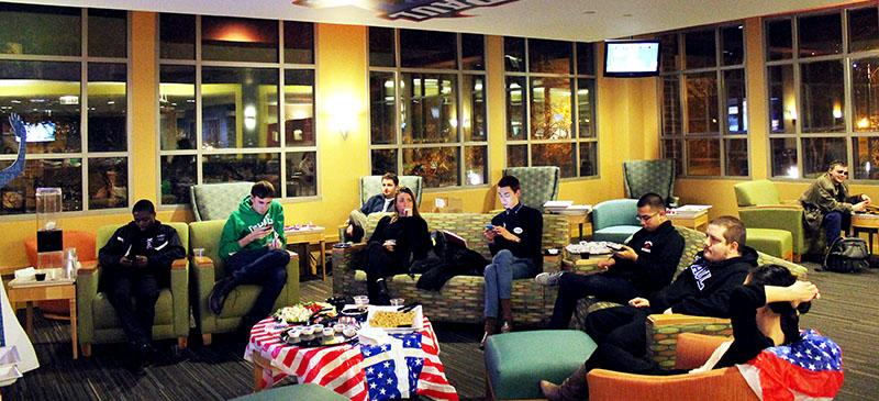 SGA hosts Election Night watch party for students