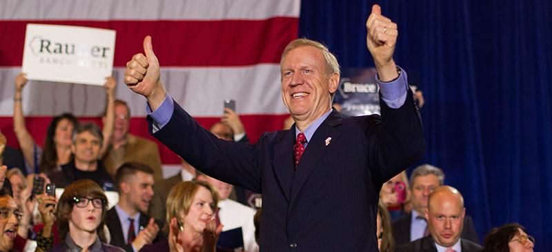 Seeing red: How Bruce Rauner won Illinois