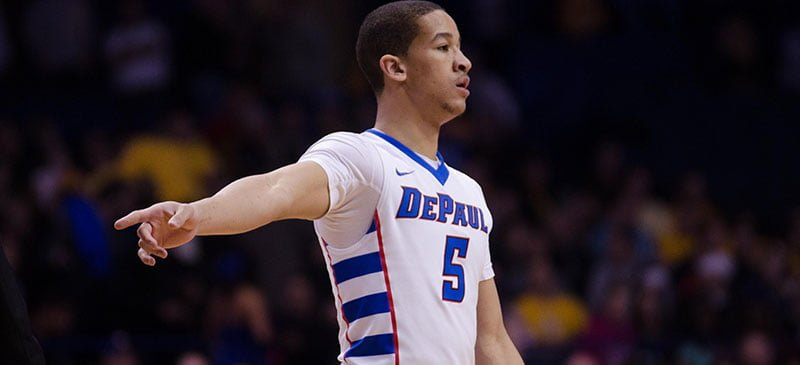 """If you can defend, you have a great chance at winning.  ... You see some talented teams, but the teams that play together are the teams that are going to win."" - Billy Garrett Jr. of DePaul men's basketball (File photo)"