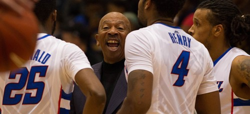 Oliver Purnell is 53-88 in his fifth year at DePaul and 447-369 all time in his 27th year as a head coach. (Grant Myatt / The DePaulia)