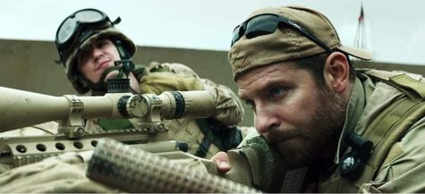 """American Sniper"" was nominated for an Oscar for best picture. Actor Bradley Cooper played Chris Kyle, the deadliest sniper in American military history. (Warner Bros. Pictures 