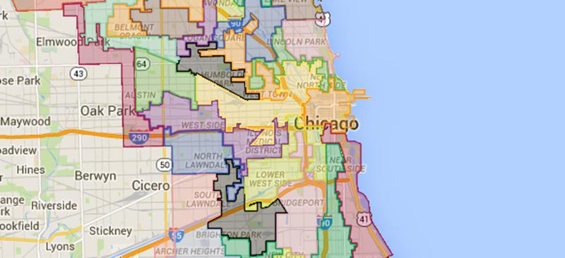 MAP: Chicago Election Results 2015