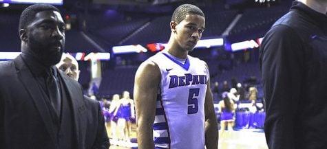 Hoyas edge DePaul men's basketball for fourth straight loss